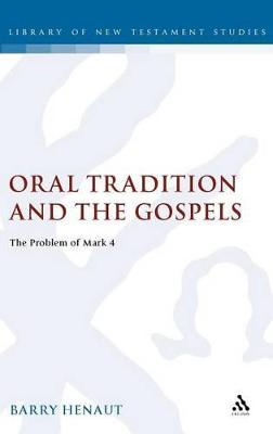 Oral Tradition and the Gospels book