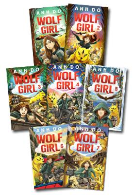 Wolf Girl Set of 4 Books by Anh Do