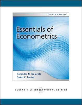 Essentials of Econometrics (Int'l Ed) by Damodar N. Gujarati
