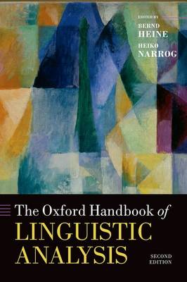 Oxford Handbook of Linguistic Analysis by Bernd Heine