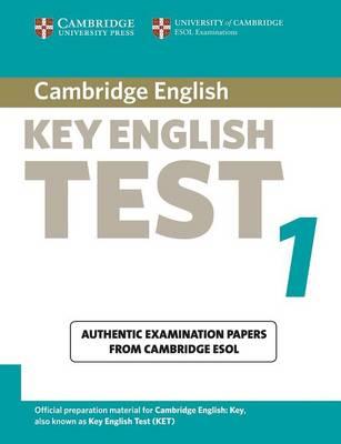 Cambridge Key English Test 1 Student's Book book