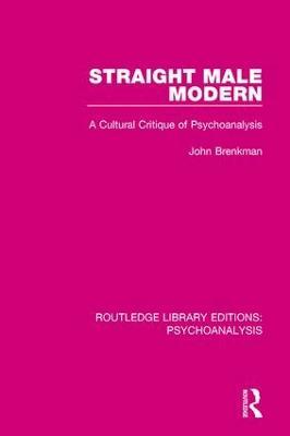 Straight Male Modern by John Brenkman