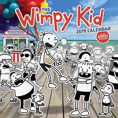 The Wimpy Kid 2019 Calendar by Jeff Kinney