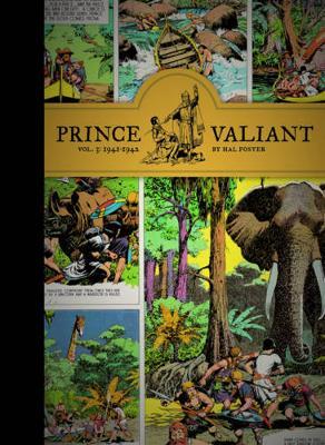 Prince Valiant Prince Valiant Vol.3: 1941-1942 1941-1942 v. 3 by Hal Foster