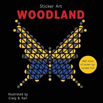 Sticker Art Woodland by Craig & Karl