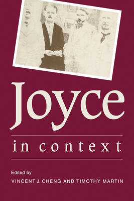 Joyce in Context by Vincent John Cheng