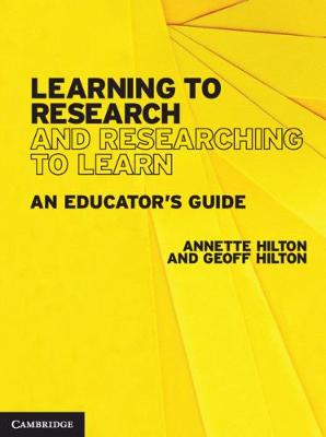 Learning to Research and Researching to Learn: An Educator's Guide book