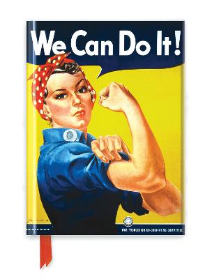We Can Do It! Poster (Foiled Journal) by Flame Tree Studio