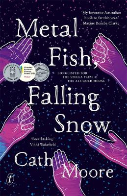 Metal Fish, Falling Snow by Cath Moore