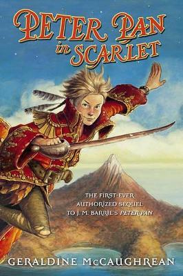 Peter Pan in Scarlet book
