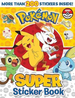 Pokemon: Super Sticker Book book