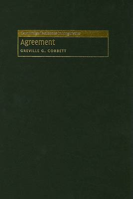 Agreement by Greville G. Corbett