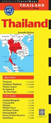 Thailand Travel Map by Periplus Editions