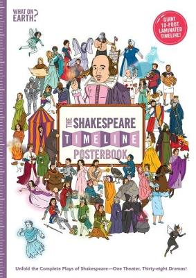 The Shakespeare Timeline Posterbook: Unfold the Complete Plays of Shakespeare - One Theater, Thirty-Eight Dramas! by Christopher Lloyd