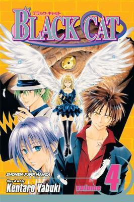 Black Cat, Vol. 4 by Kentaro Yabuki