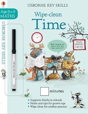 Wipe-Clean Time 8-9 by Holly Bathie