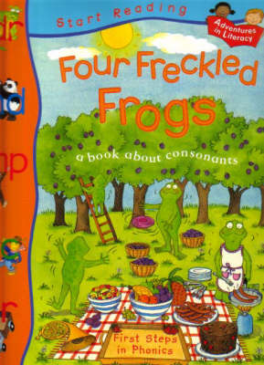 Four Freckled Frogs by Ruth Thomson