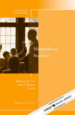 Marginalized Students by Elizabeth M. Cox