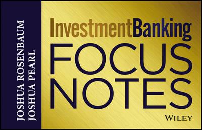 Investment Banking by Joshua Rosenbaum