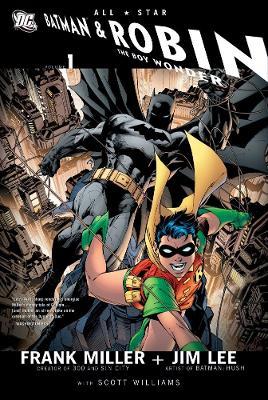 All Star Batman And Robin The Boy Wonder HC Vol 01 by Jim Lee