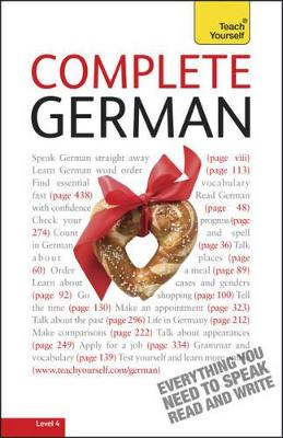 Complete German (Learn German with Teach Yourself) by Paul Coggle