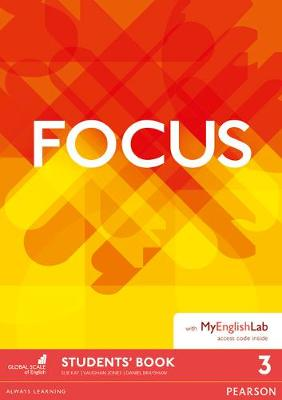 Focus BrE 3 Student's Book for MyEnglishLab Pack by Vaughan Jones