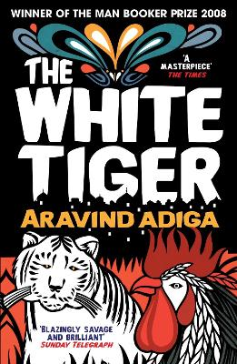 White Tiger book