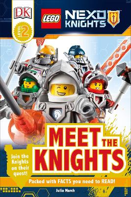 LEGO (R) NEXO KNIGHTS Meet the Knights book