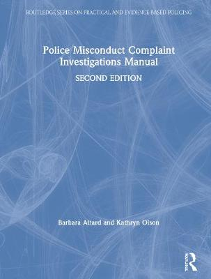 Police Misconduct Complaint Investigations Manual book