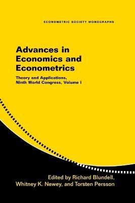 Advances in Economics and Econometrics book