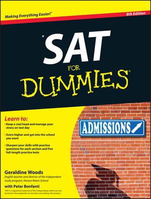 SAT For Dummies by Geraldine Woods
