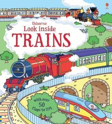 Look Inside Trains book