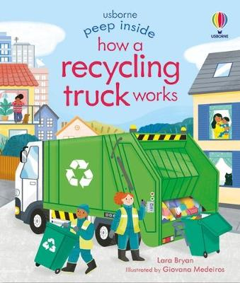 Peep Inside How a Recycling Truck Works book