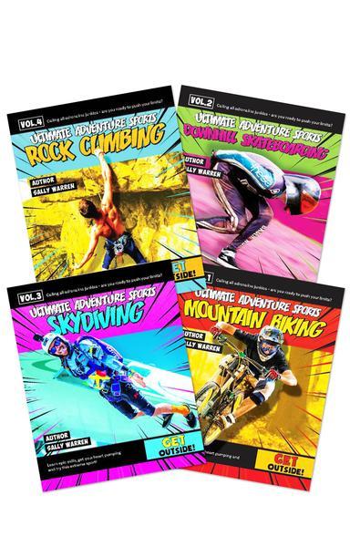 All About Dinosaurs Set of 4 by Mignonne Gunasekara