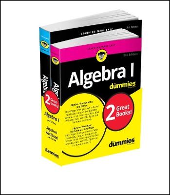 Algebra I Workbook For Dummies with Algebra I For Dummies 3e Bundle book