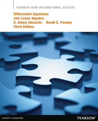Differential Equations and Linear Algebra: Pearson New International Edition by C. Henry Edwards