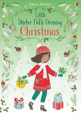 Little Sticker Dolly Dressing Christmas by Fiona Watt