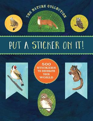 Nature Collection: Put a Sticker On It! book