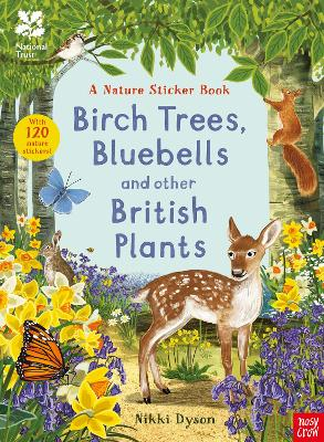 National Trust: Birch Trees, Bluebells and Other British Plants book