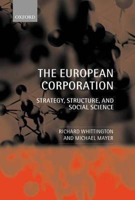 European Corporation book