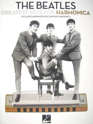 Beatles Greatest Hits For Harmonica book