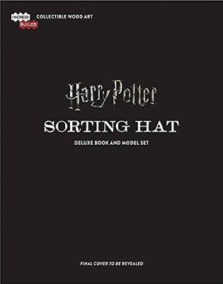 IncrediBuilds: Harry Potter: Sorting Hat Deluxe Book and Model Set by Jody Revenson