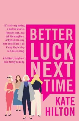 Better Luck Next Time book