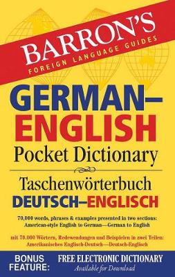 Barron's German-English Pocket Dictionary by Ursula Martini