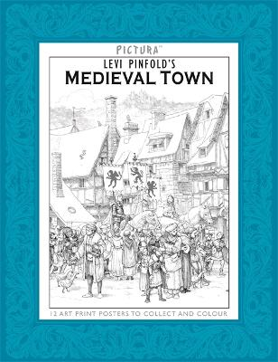 Pictura Prints: Medieval Town by Levi Pinfold