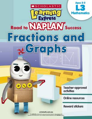 Learning Express NAPLAN: Fractions and Graphs L3 book