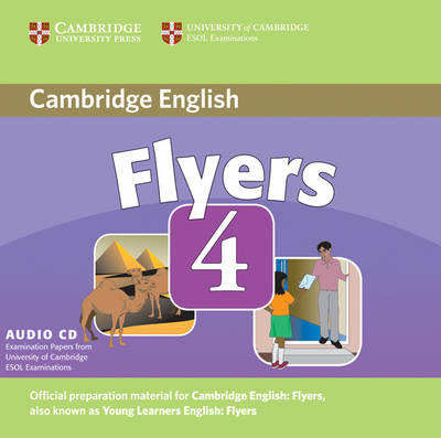 Cambridge Young Learners English Tests Flyers 4 Audio CD book