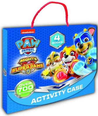 PAW Patrol Mighty Pups Super Paws Activity Case book