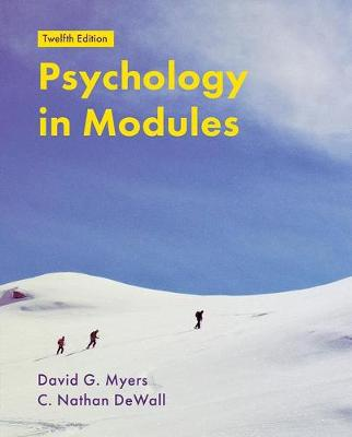 Psychology in Modules by David Myers