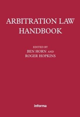 Arbitration Law Handbook book